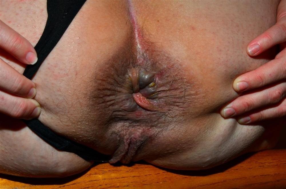 женский старый анус крупно фото шести брюнеток