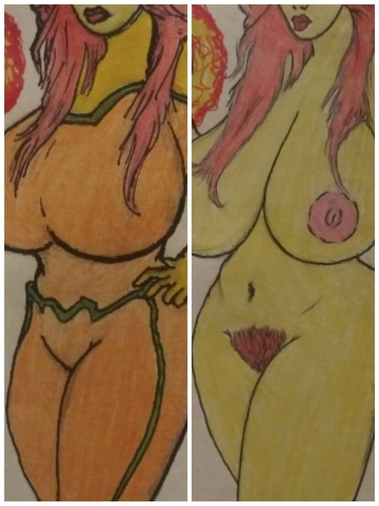For tontoe202: Character Drawings: SunBurst