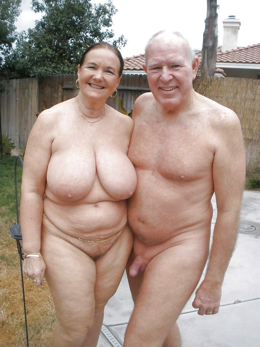 Fat hairy grandpa