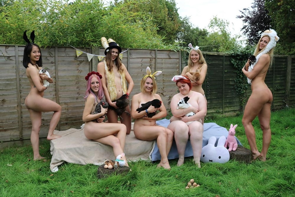 Senior women pose nude to raise money, in hit comedy calendar girls