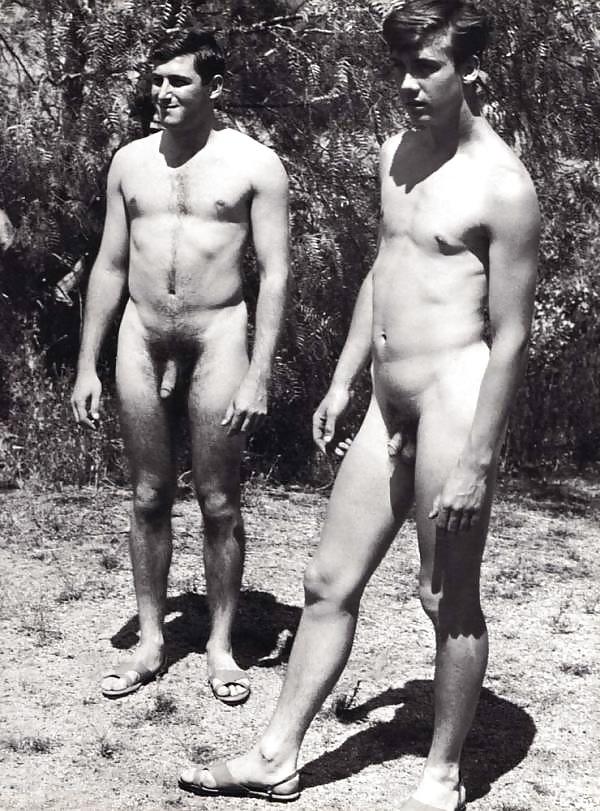 Vintage nude men pics