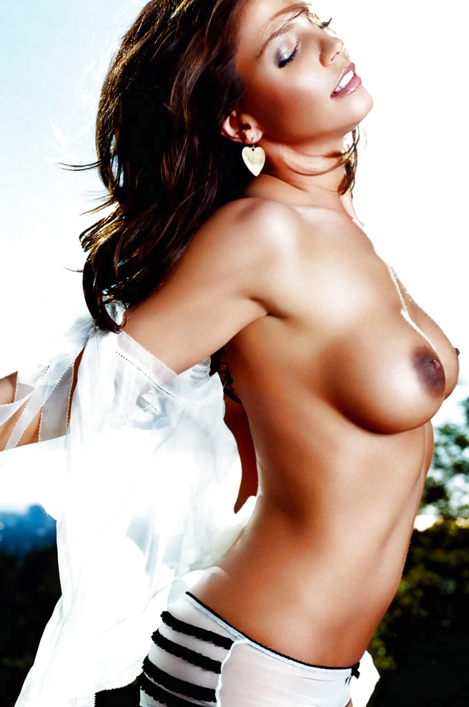Charisma Carpenter Nude Boobs Bound