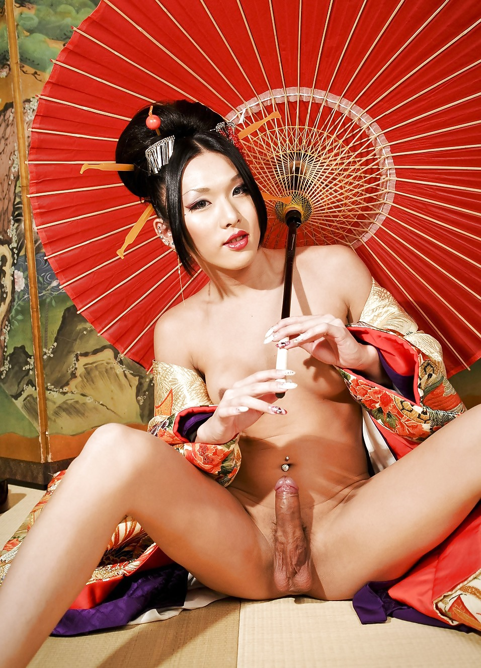 Asian geisha