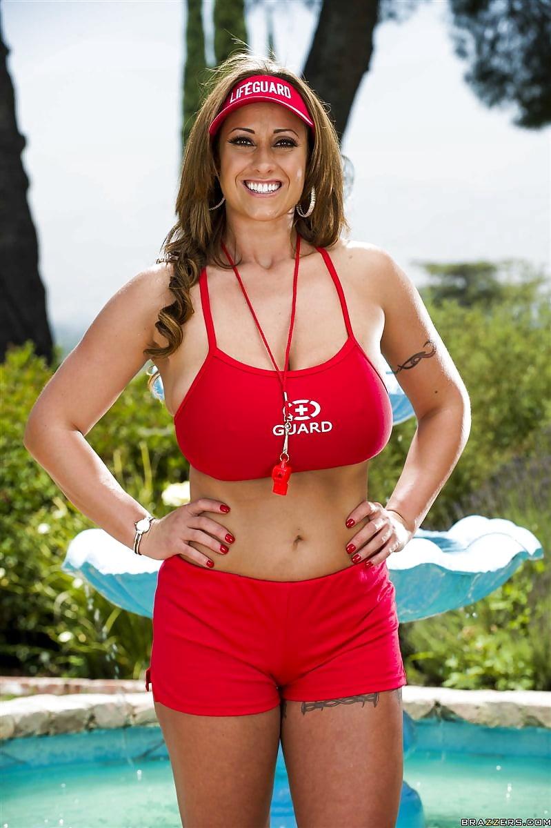 Busty lifeguards screens