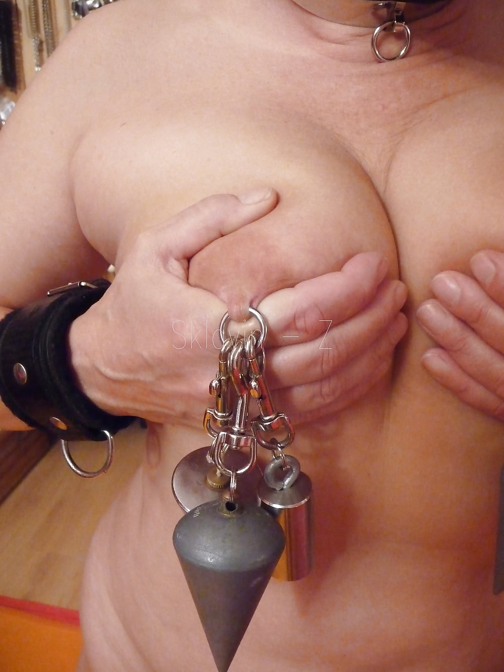 Nipples Torture With Weights - 5 Pics  Xhamster-9304