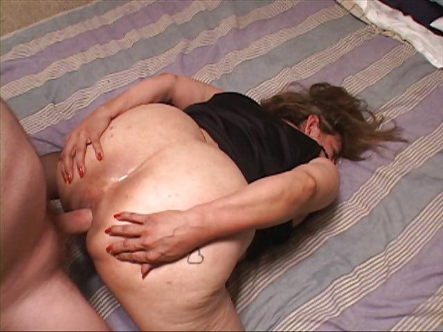 Ebony granny ass gape