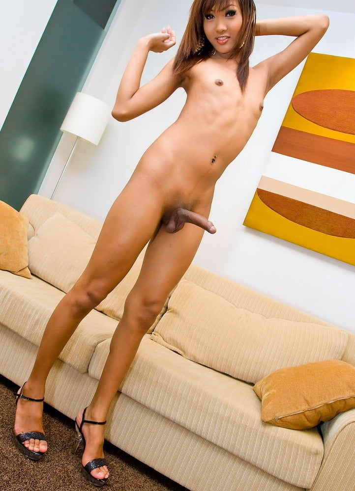 Legs up and barebacked short time by hung tranny jasmine ladyboy shemale femboy