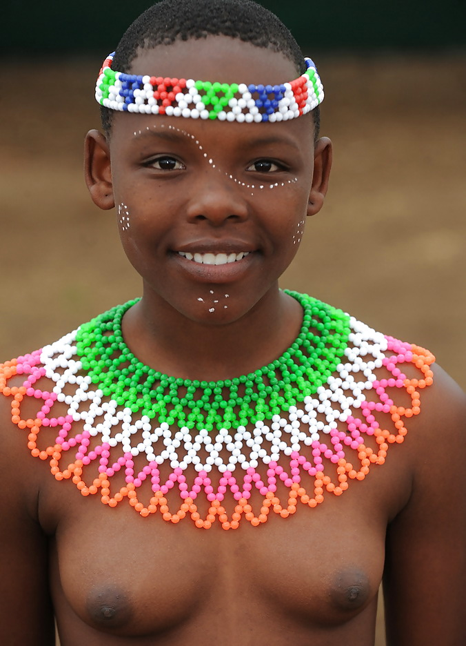Breast indon young african girl