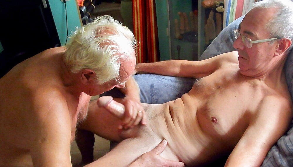 X old men cumshot