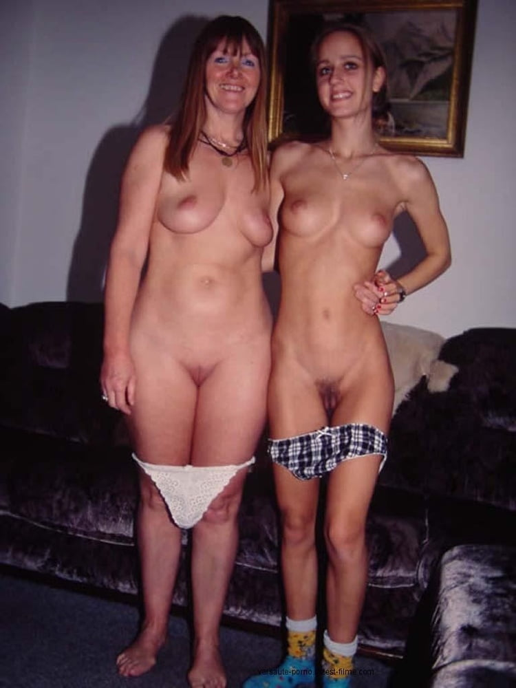 Naked daughter with her naked father