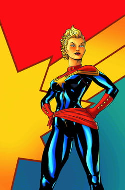 Captain marvel womens halloween costume