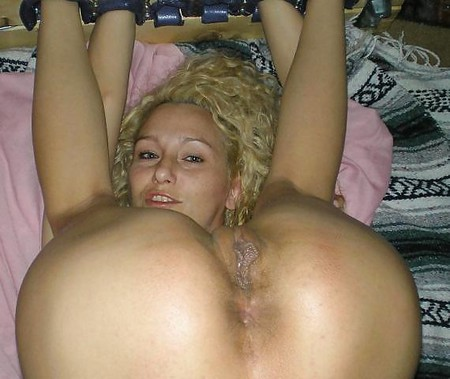 curly Chubby blonde
