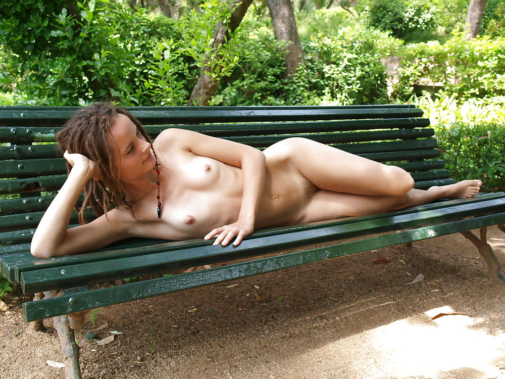 Nude girls in a park, english sexxx picture