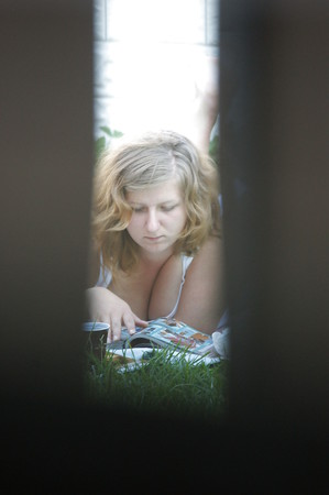 REAL Big Tits Voyeur from neighbor woman