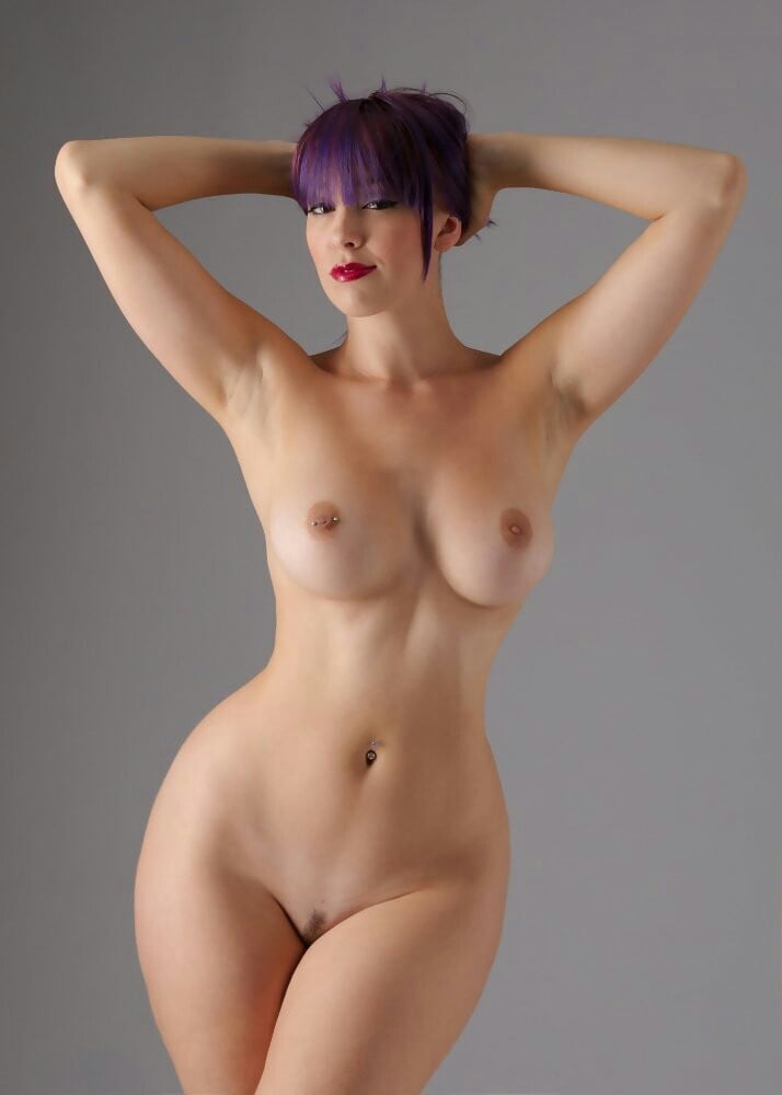 Nude female full body