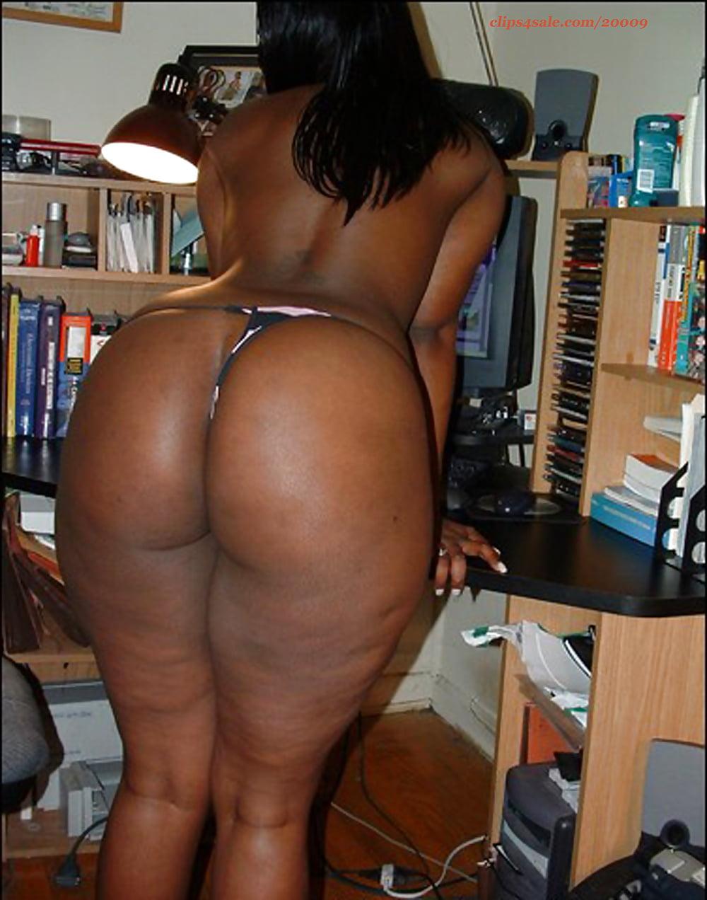 Black on black with big booty ebony milf mom in sexy eyeglasses