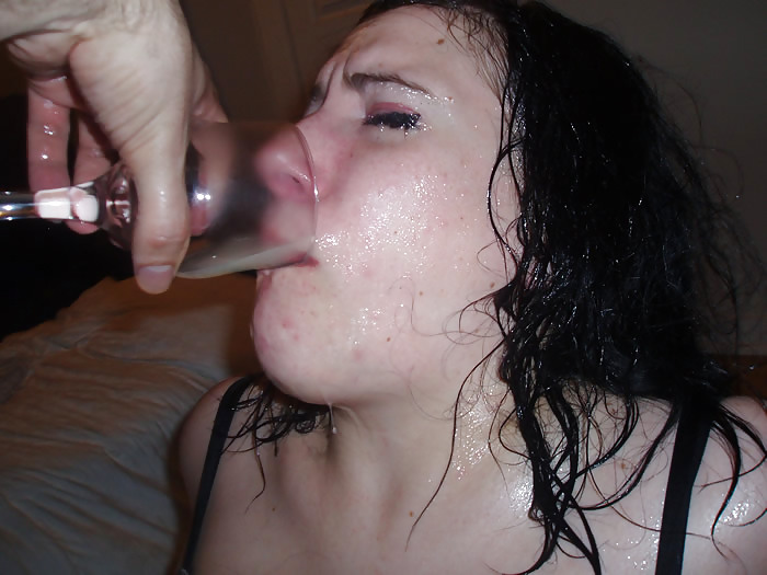Youporn drinking cum