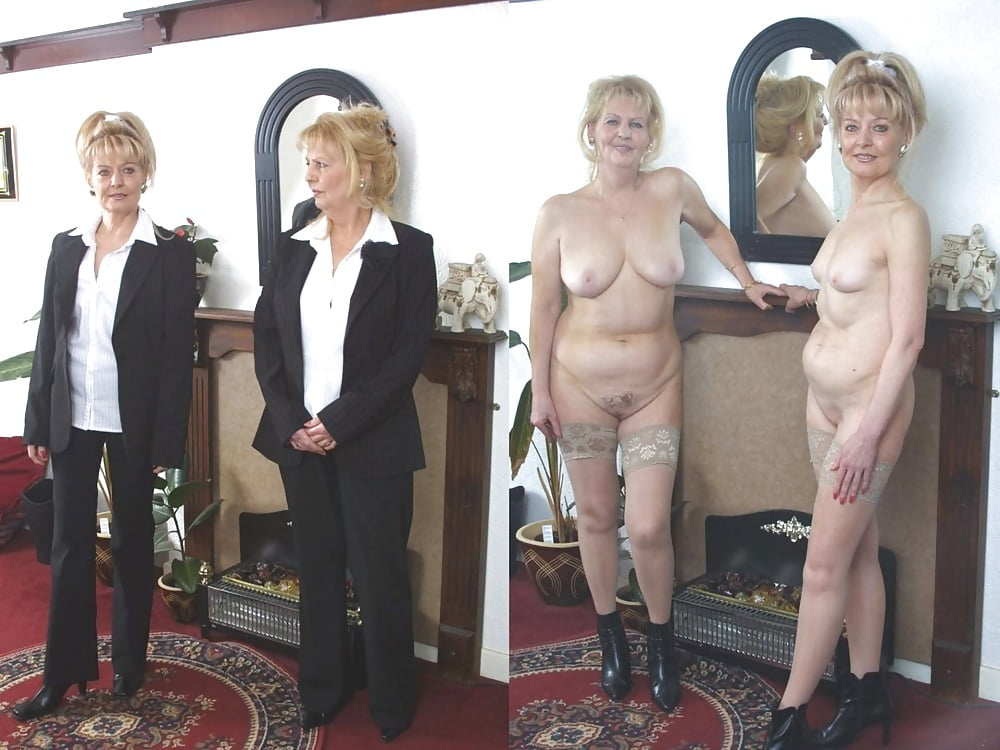 Real British Mature Posing Nude