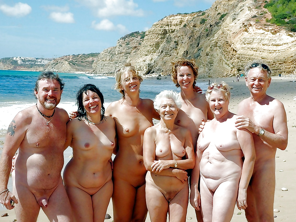 Nude beaches with families