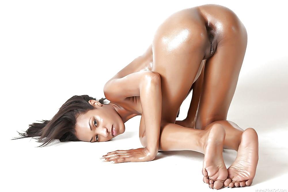 Hot black girl legs