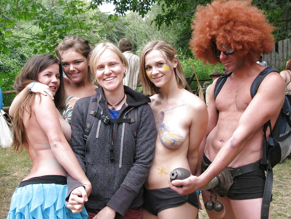 Oregon country fair girls nude