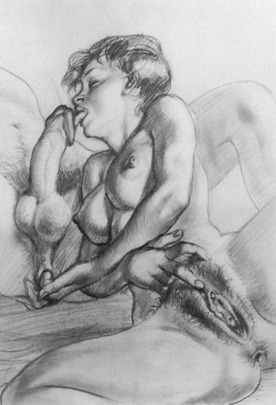 Awesome drawn fantasy porn pics