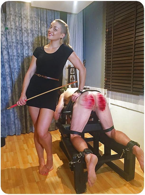 Femdom spanking dvds