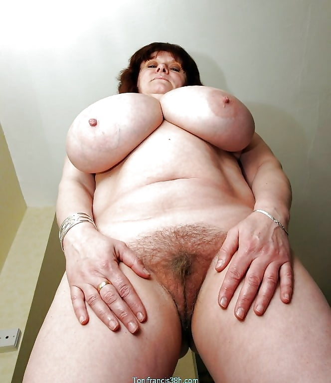 Fat hairy mature big tits