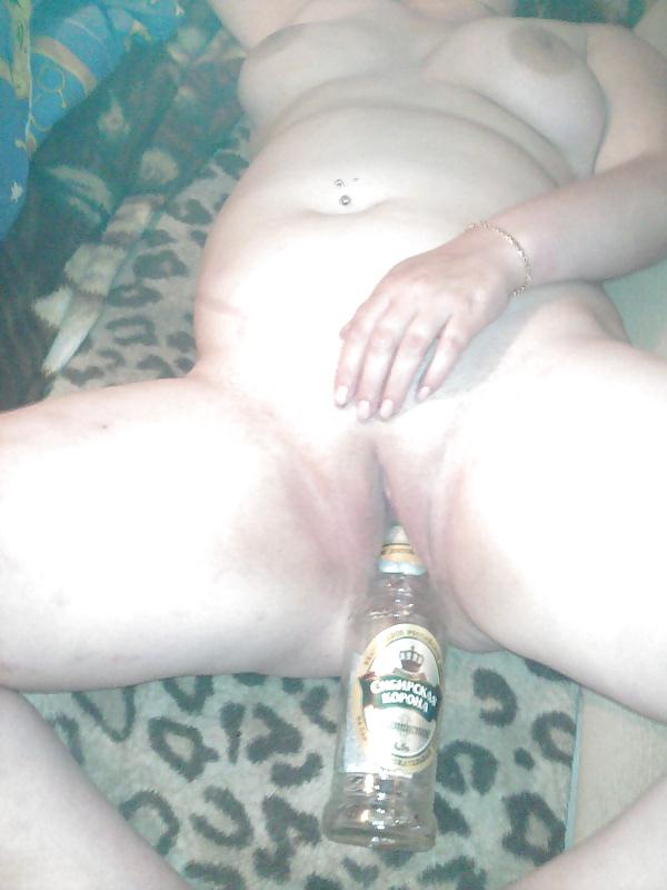Пьяная баба жопе не хозяйка — 9
