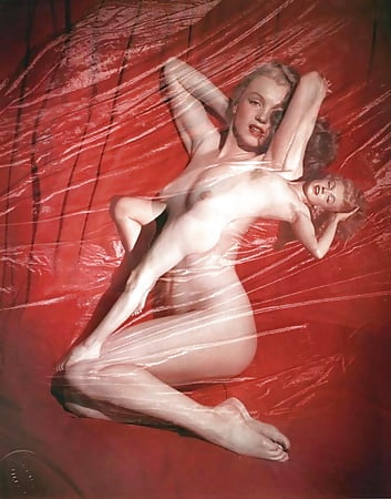 Tits Photographed Nude Marlyn Pic