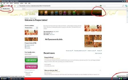 Porn passwords sites