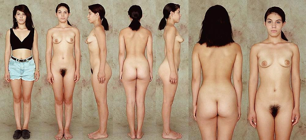 Naked woman line — photo 4
