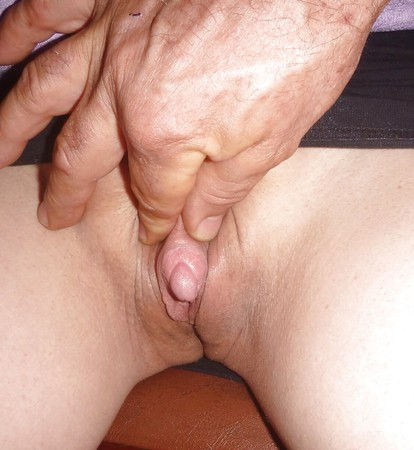 Show a very large clitoris