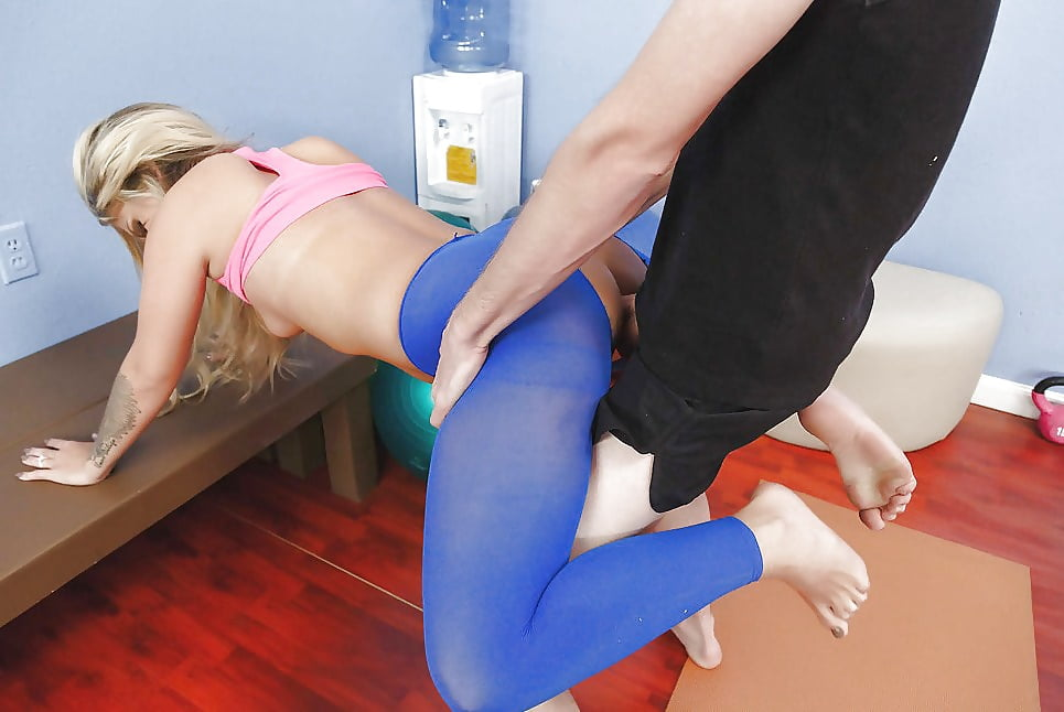 Fucking Through Yoga Pants