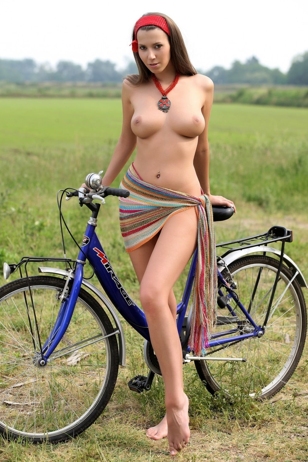 Busty mountain bike girls #11