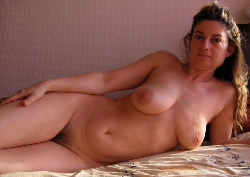 Amateur models mature figure