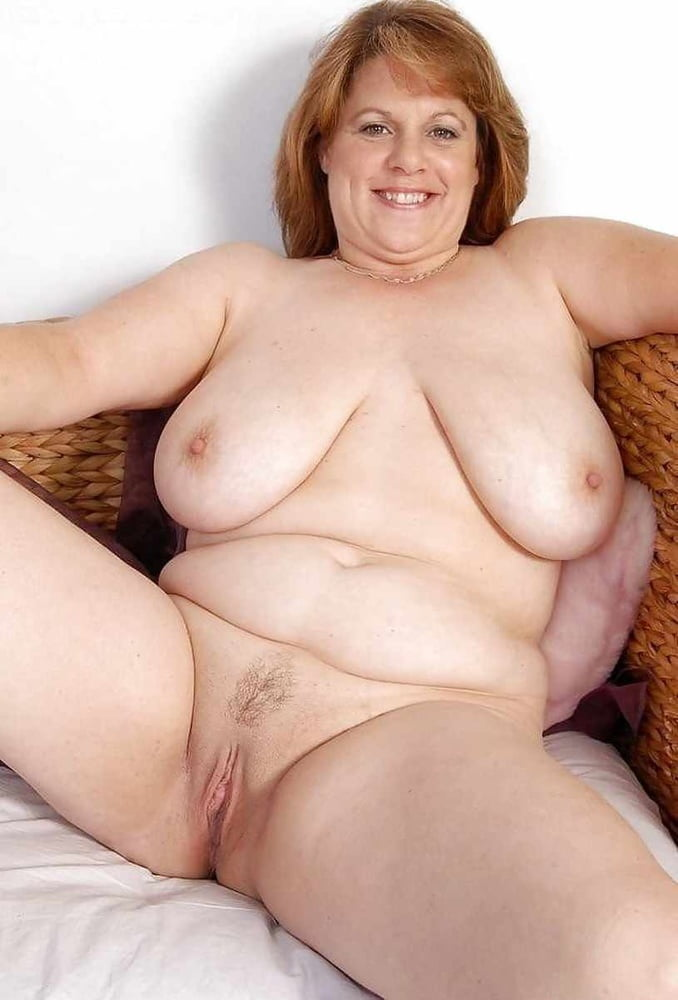 Old fat hairy granny