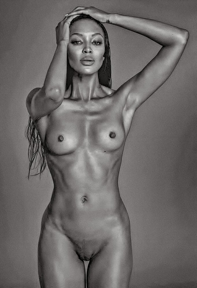 Nude sexy black supermodels #8