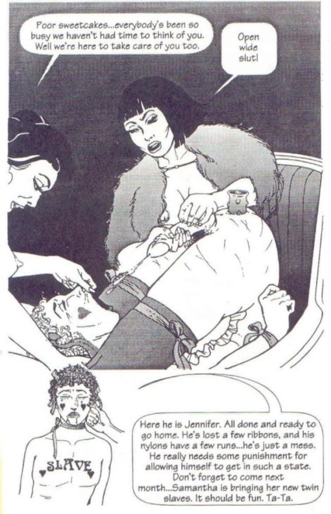 FD sissy comics - 34 Pics