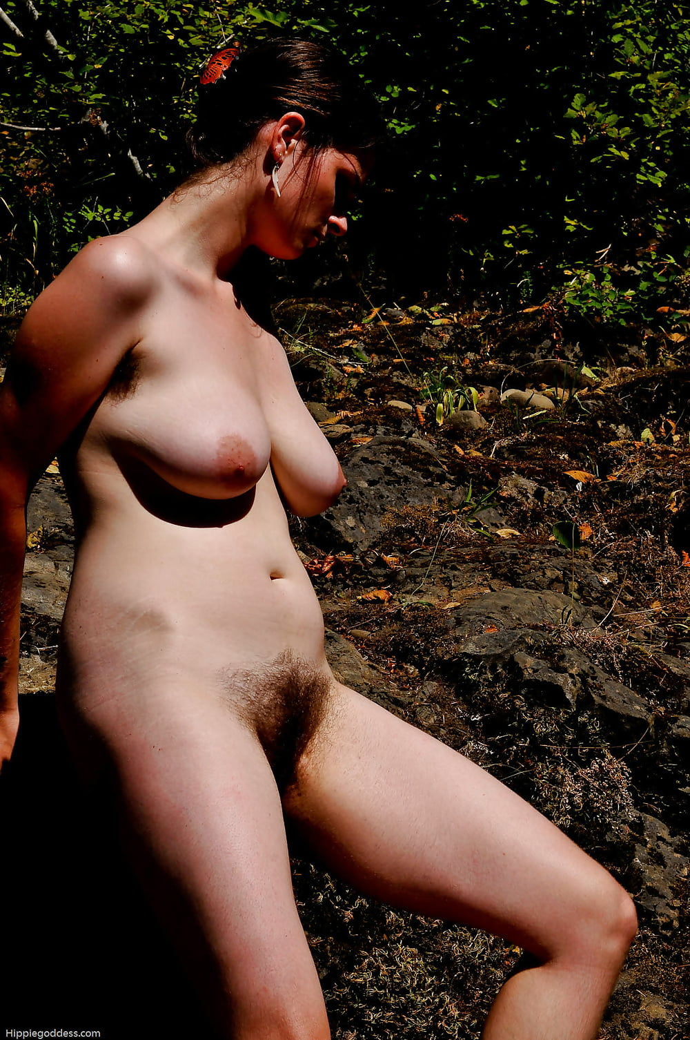 Nude hippie picture
