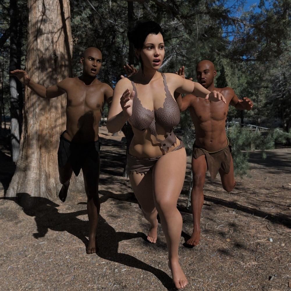 Savage Threesome - 28 Pics