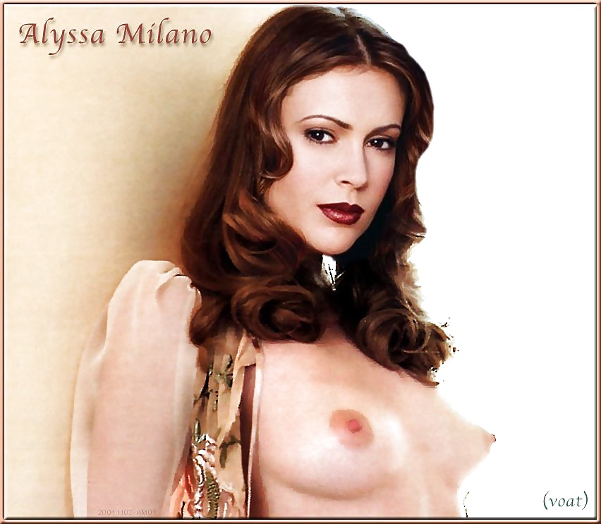 Alyssa milano sex science