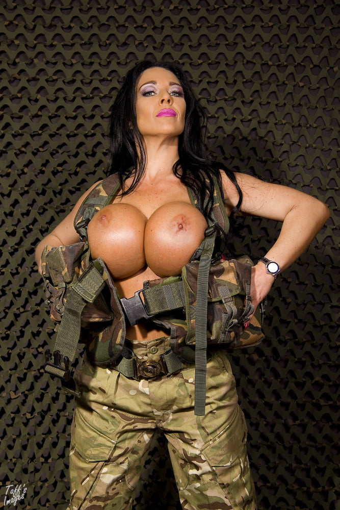 Military galleries with naked big boobs