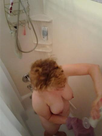 naked girl shower glass