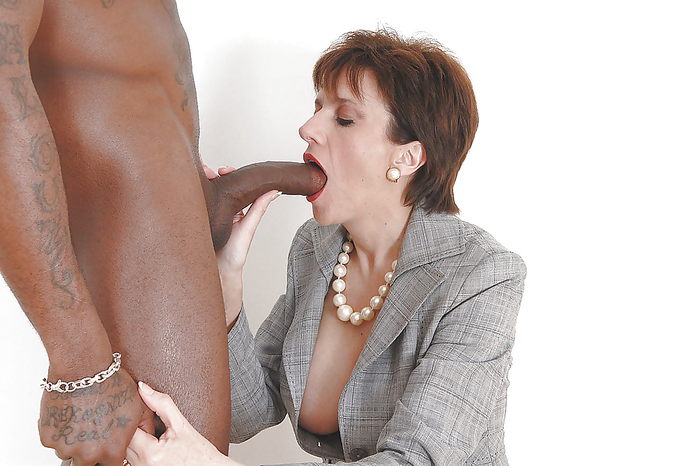 Cum covered mature