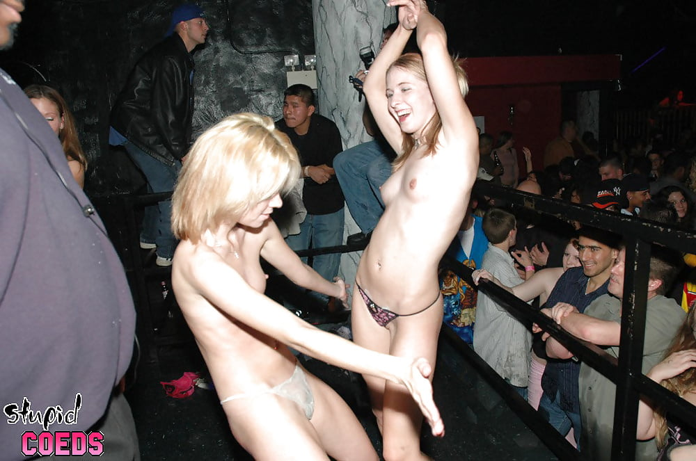 Naked drunk teen