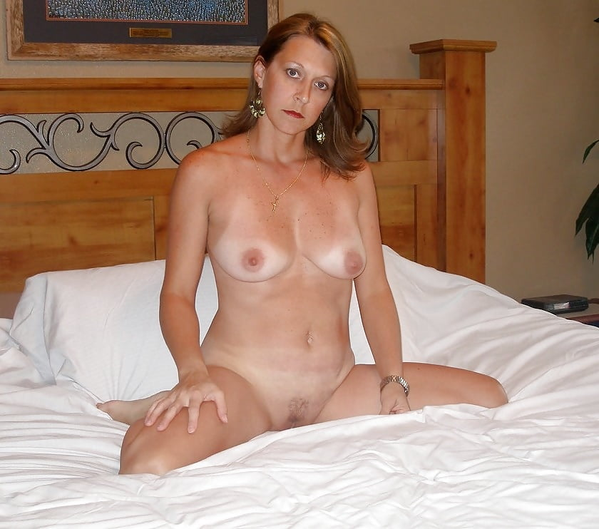 Mature woman with small