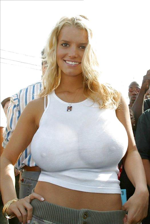 Jessica simpson fat pictures boobs — pic 1
