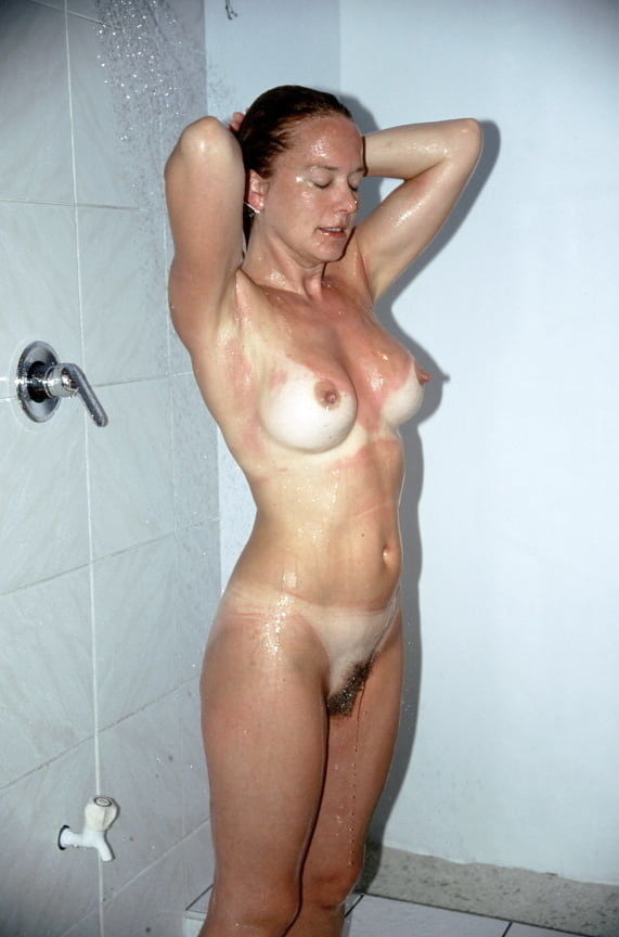 Very Sexy Milf Shower