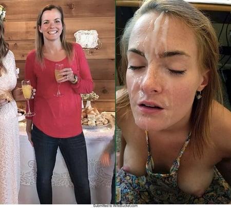 cum Before facials after and